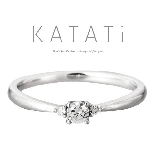 カタチの婚約指輪でMJK-8