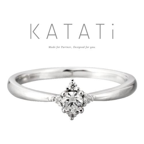 カタチの婚約指輪でMJK-9