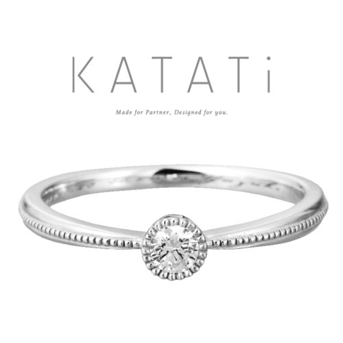 カタチの婚約指輪でMJK-13