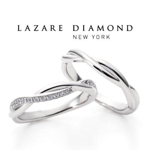 ラザールダイヤモンドの結婚指輪でスイートアイヴィ