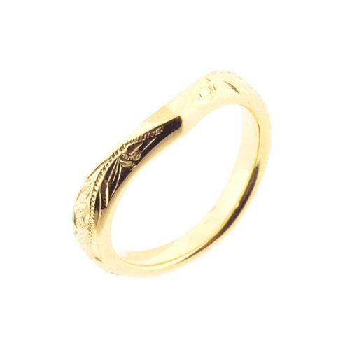 リナモアの結婚指輪で002
