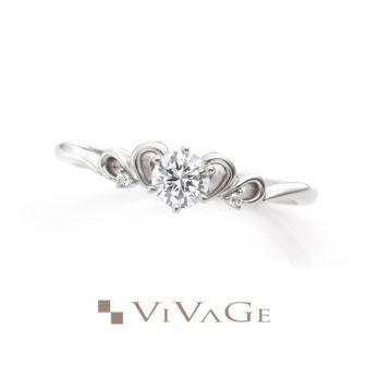 VIVAGEヴィヴァージュの婚約指輪カルム