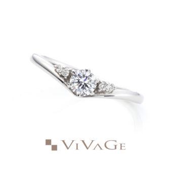 VIVAGEヴィヴァージュの婚約指輪レヴリー