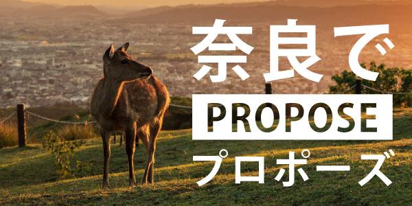 奈良でオススメのプロポーズスポット