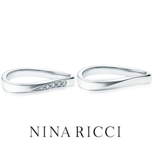 ニナリッチの結婚指輪で6R1B01/B02