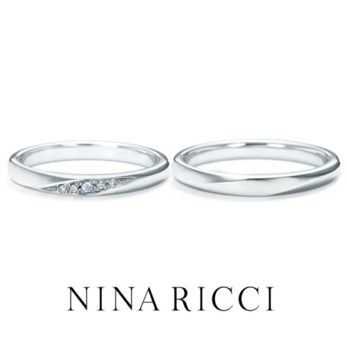 ニナリッチの結婚指輪で6R1B03/B04