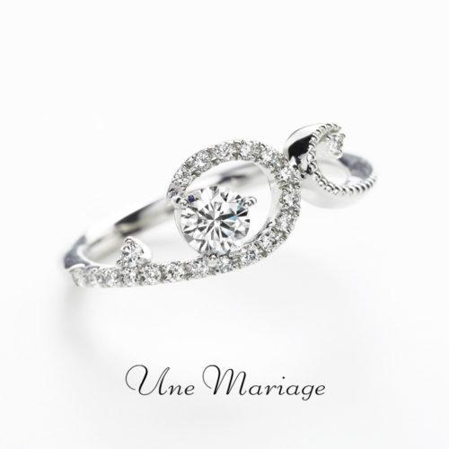 UneMariageアンマリアージュの婚約指輪アンヴロペ