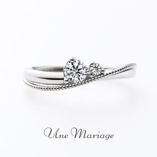 UneMariageアンマリアージュの婚約指輪ラパンデモア