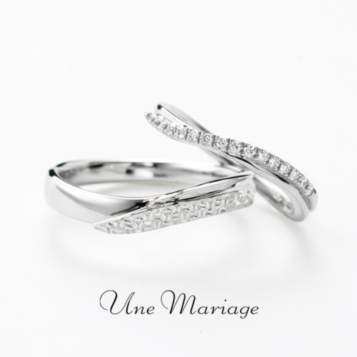 UneMariageアンマリアージュの結婚指輪でルトンダンヴァン