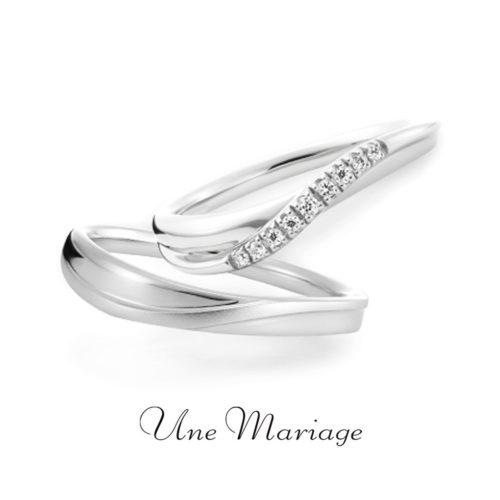 UneMariageアンマリアージュの結婚指輪リュミノジテエテルネッル