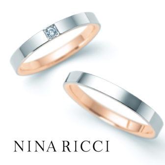 ニナリッチの結婚指輪で6R1F07/08