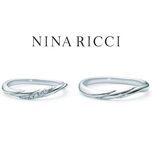 ニナリッチの結婚指輪で6R1J01/02
