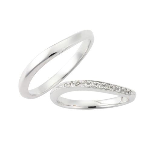 プルーヴの結婚指輪でLU00099/00095