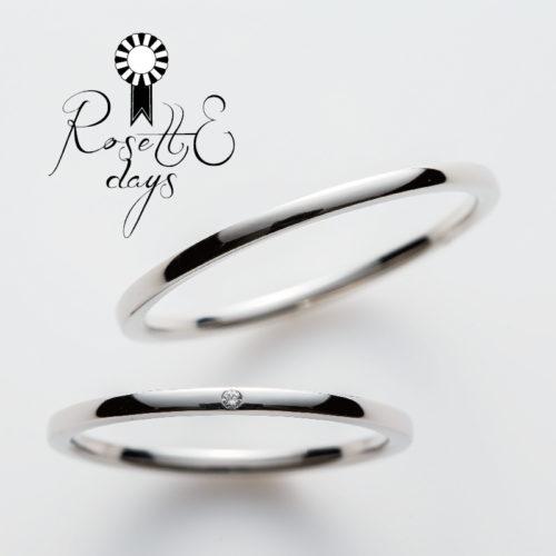 ロゼットデイズの結婚指輪でオレガノ