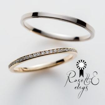 ロゼットデイズの結婚指輪でタイム