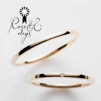 ロゼットデイズの結婚指輪でローリエ
