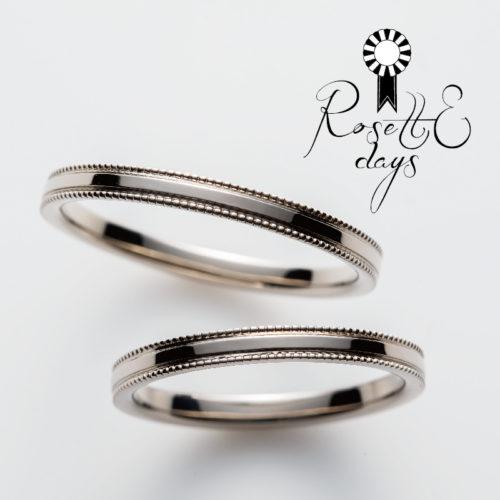 ロゼットデイズの結婚指輪でセージ
