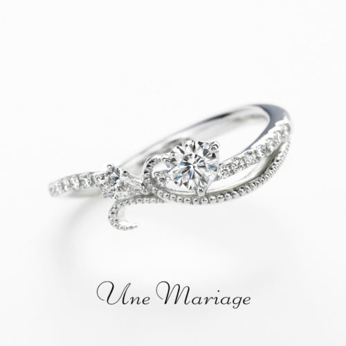 UneMariageアンマリアージュの婚約指輪タンウルー