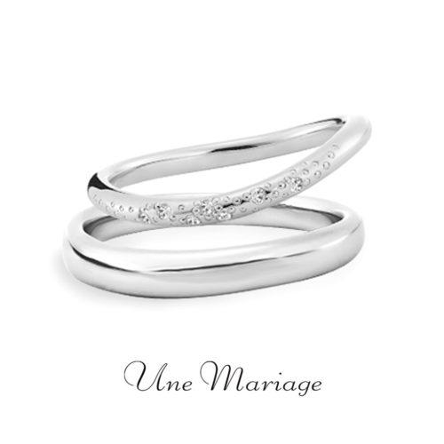 UneMariageアンマリアージュの結婚指輪バニラ