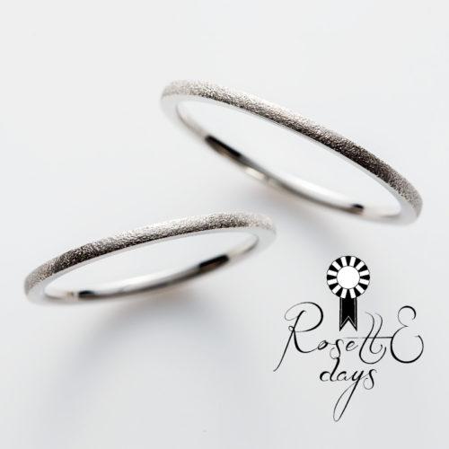 ロゼットデイズの結婚指輪でバジル