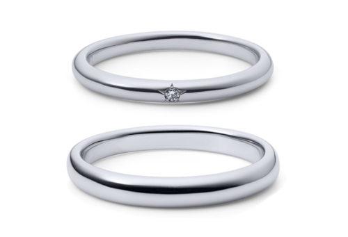 静岡市結婚指輪シンプル