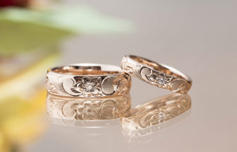 静岡市結婚指輪ハワイアン