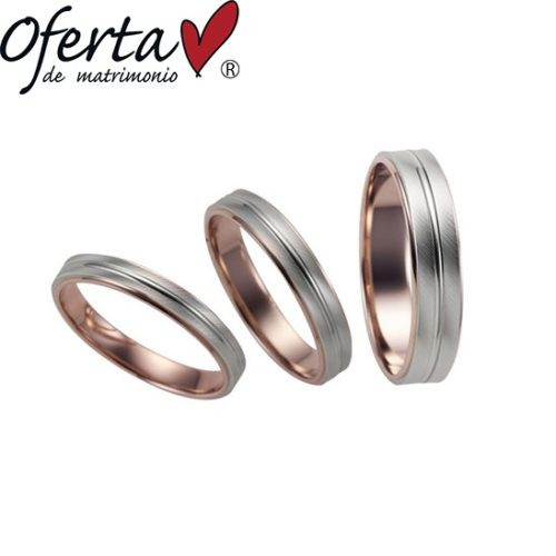 オフェルタの結婚指輪でブリッラ・ルシール