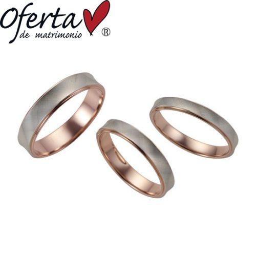 オフェルタの結婚指輪でソル ミーオ・ルナ ミーア