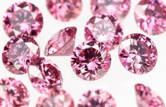 ピンクダイヤモンドを取り扱う