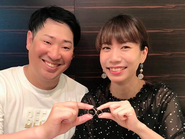 広島県福山市 杢目金屋(もくめがねや)の結婚指輪 をご成約のお客様