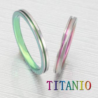 TITANIOティタニオの結婚指輪でNo.1の2mm