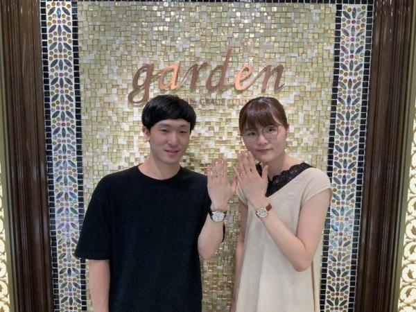 兵庫県 豊岡市 ユカホウジョウの結婚指輪