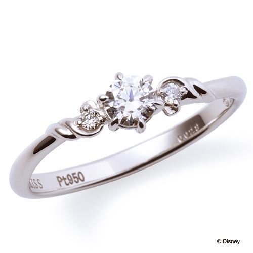 ディズニープリンセスの婚約指輪でリトルマーメイド