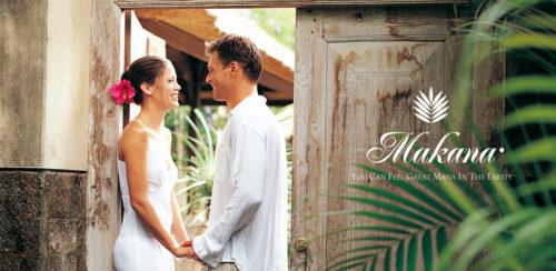 ハワイアンジュエリーの結婚指輪ブランドでマカナメイン画像