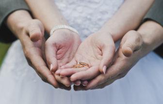 お洒落な結婚指輪