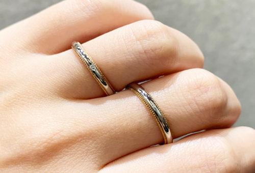 結婚指輪,結婚指輪シンプル,結婚指輪アムールアミュレット,