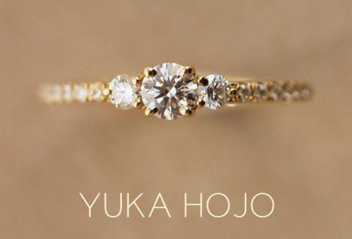 YUKAHOJO,YUKAHOJO婚約指輪,YUKAHOJOコメット,