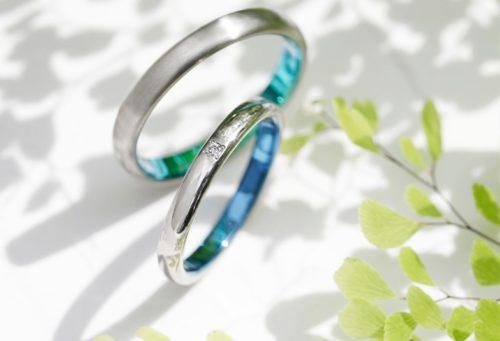 結婚指輪ソラ、モンテ、アレルギーフリー、素材カスタム、