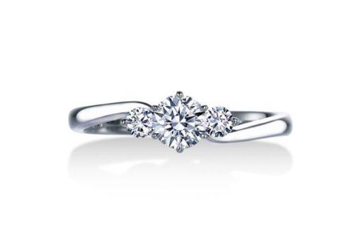 ロイヤルアッシャー,ロイヤルアッシャー婚約指輪,ロイヤルアッシャー婚約指輪シンプル,