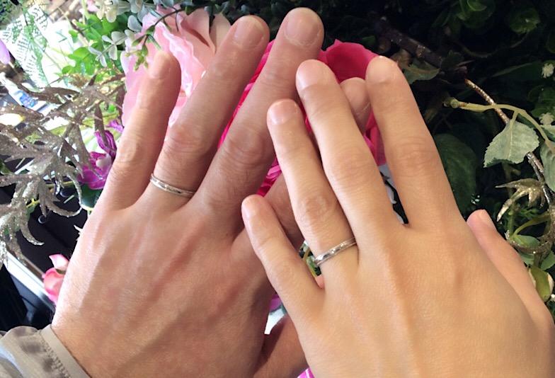 福島県いわき市 Petit Marie結婚指輪ご成約のお客様