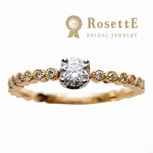 RosettE婚約指輪しずく