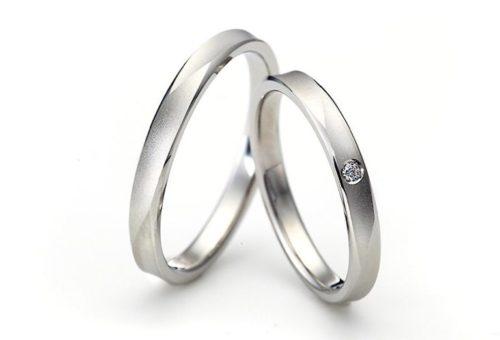 結婚指輪,平打ちリング,