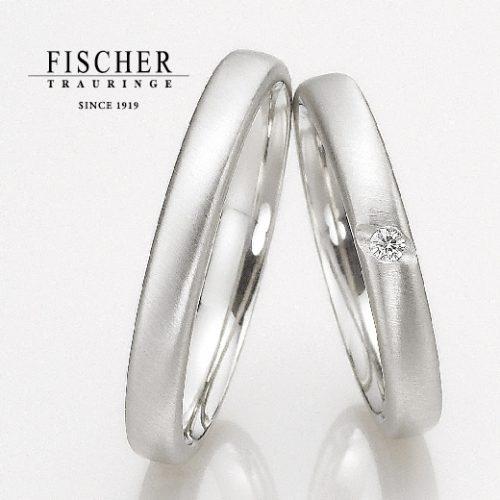FISCHERフィッシャーの結婚指輪で139シリーズ