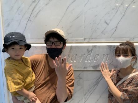 神戸市西区 エトルの結婚指輪