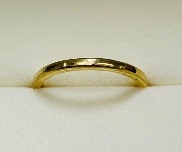 手作り結婚指輪の幅