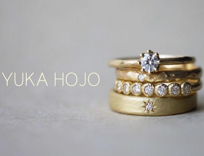 YUKAHOJO,YUKAHOJO婚約指輪,ゴールド婚約指輪,