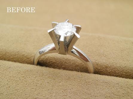 婚約指輪ジュエリーリフォーム