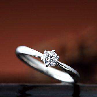 シェールラブの婚約指輪でアイビー