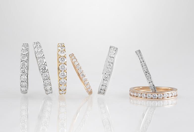 ブリリアントステージの婚約指輪