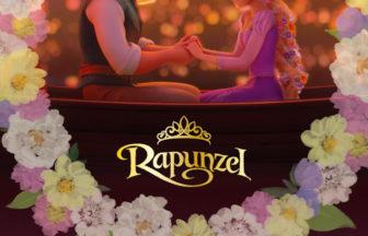 DisneyRapunzelの結婚指輪デザイン